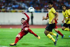 Quang Hải ghi bàn giúp Việt Nam đánh bại Malaysia