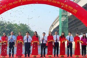 Thông xe đường Vành đai có lưu lượng giao thông lớn nhất Hà Nội