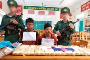 Phá đường dây ma túy lớn nhất từ trước đến nay trên tuyến biên giới Quảng Bình