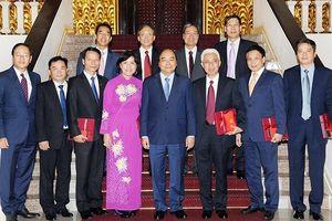 Thủ tướng Chính phủ, Chủ tịch Quốc hội tiếp các Ðại sứ, Trưởng cơ quan đại diện Việt Nam tại nước ngoài nhiệm kỳ 2019-2022