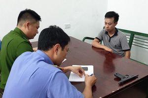 Bắt giữ đối tượng cướp tiệm vàng ở Quảng Ninh
