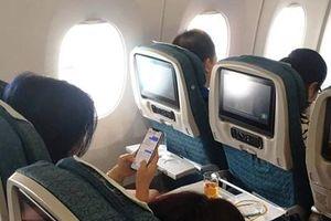 Trải nghiệm dịch vụ wifi trên máy bay lần đầu tiên có mặt tại Việt Nam