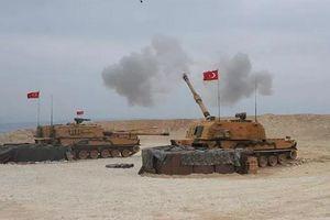 Thổ Nhĩ Kỳ oanh kích dữ dội ở miền Bắc Syria