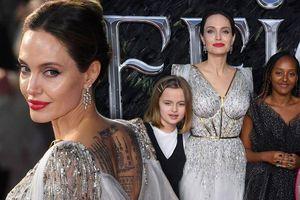 Angelina Jolie tỏa sáng lộng lẫy như nàng tiên trên thảm đỏ
