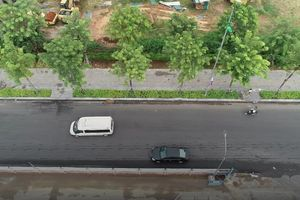 Hà Nội sắp thông xe đường vành đai 3 bên dưới