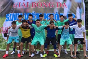 Khai mạc giải thể thao sinh viên Trường đại học Sư phạm thể dục thể thao Hà Nội