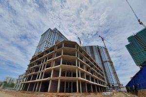 Dự án cụm công trình nhà ở IA.20 có tình trạng xây sai thiết kế được duyệt