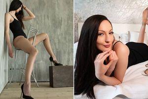 'Choáng' với người phụ nữ Nga sở hữu đôi chân dài nhất thế giới