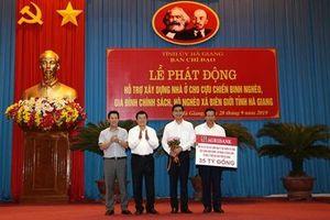 Agribank: Ủng hộ 35 tỷ đồng xây dựng nhà ở cho các hộ chính sách, hộ nghèo của tỉnh Hà Giang