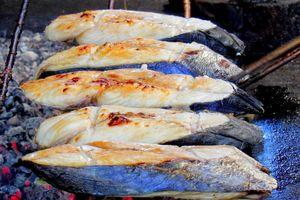 Cá nướng than hồng thơm ngon ở miệt biển Nghệ An