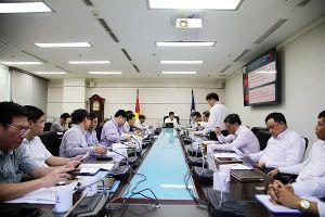 Lãnh đạo EVN kiểm tra tình hình hoạt động của Tổng công ty Điện lực miền Nam