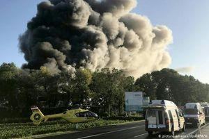 Áo: Nổ tại nhà máy xử lý rác gần sân bay, nhiều người bị thương
