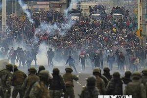 Bạo lực vẫn tiếp diễn tại Ecuador nhằm phản đối chính phủ
