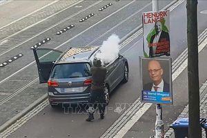 Giới chức Đức cho rằng vụ nổ súng tại thành phố Halle có động cơ bài Do Thái