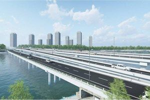 Hơn 340 tỷ đồng xây cầu qua hồ Linh Đàm nối với vành đai 3