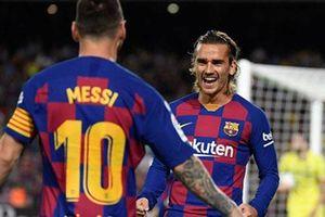 Messi phủ nhận 'đì đọt' Griezmann