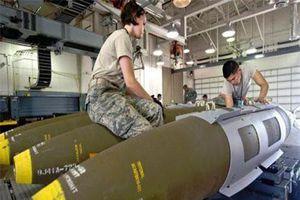 Mỹ tăng cường bom chùm cho chiến trường Trung Đông