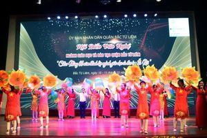 Sôi nổi Hội diễn văn nghệ kỷ niệm 65 năm thành lập ngành Giáo dục và Đào tạo Hà Nội