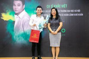 Gapo đồng hành cùng Khắc Việt trao học bổng cho sinh viên