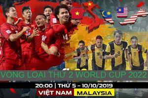 Việt Nam - Malaysia: 'Đả hổ' tại Mỹ Đình