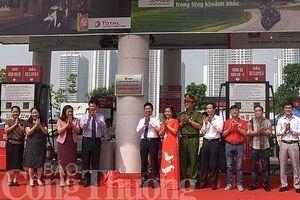 Cửa hàng xăng dầu Mai Dịch 1 được công nhận cửa hàng văn minh thương mại
