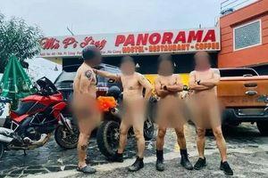Nhóm đàn ông khỏa thân trên đèo Mã Pí Lèng: Vì sao không thể xử phạt?