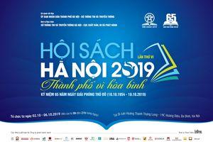 Hội sách Hà Nội 2019, thu hút nhiều đơn vị xuất bản quốc tế