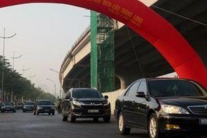 Hà Nội thông xe tuyến đường đầu tư trên 3.000 tỷ đồng