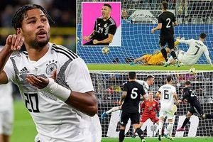 Highlight trận giao hữu quốc tế ĐT Đức 2-2 ĐT Argentina
