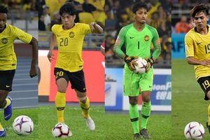 Điểm danh 23 cầu thủ ĐT Malaysia tham dự trận đấu với ĐT Việt Nam