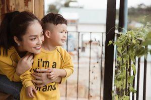 'Mẹ đơn thân' Dương Cẩm Lynh hạnh phúc đón sinh nhật cùng con trai