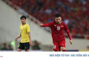 Quang Hải ghi bàn đẹp, ĐT Việt Nam giành thắng lợi 1-0 trước Malaysia