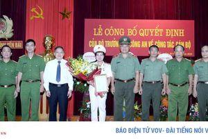 Bà Lê Thị Thanh Hằng làm Phó Giám đốc Công an tỉnh Yên Bái