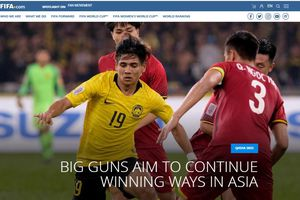 FIFA: Trận Việt Nam vs Malaysia là 'màn tái hợp của những kẻ thù'