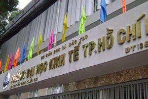 Trưởng bộ môn xin nghỉ hưu để phản đối đồng nghiệp: Đại học Kinh tế TP.HCM chưa đồng ý