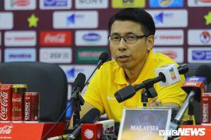 Thua cay đắng tuyển Việt Nam, HLV Malaysia bỏ họp báo