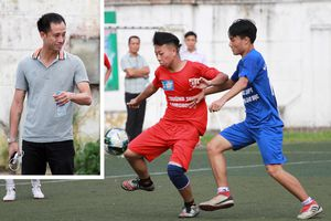 Vũ Như Thành: 'Cầu thủ giải học sinh Hà Nội có tố chất chơi cho đội tuyển'