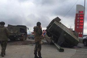 Lính Nga phải bồi thường 380.000 USD do để pháo tự hành rơi