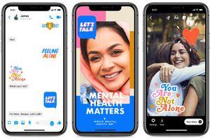 Facebook ra mắt bộ nhãn dán 'Cùng sẻ chia' nhân Ngày sức khỏe tâm thần thế giới