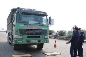 Chở quá tải, 535 tài xế bị tước giấy phép lái xe