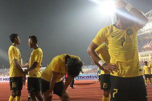 Cầu thủ Malaysia thất vọng khi đối mặt CĐV nhà sau trận thua Việt Nam