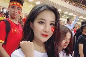 Khoe ảnh cũ cổ vũ tuyển Việt Nam, cô gái bỗng bị dân mạng hiểu nhầm