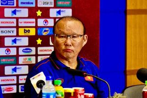 HLV Park: 'Tôi tự hào vì được dẫn dắt đội tuyển Việt Nam'