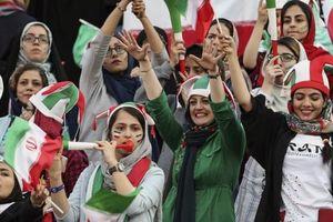 Lần đầu tiên hàng ngàn phụ nữ Iran được xem bóng đá