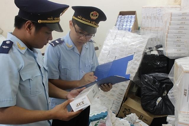Hải quan Quảng Trị bắt hơn 736.000 bao thuốc lá ngoại