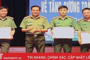 Xây dựng công an cấp huyện ở Hà Tĩnh đáp ứng nhiệm vụ trong tình hình mới