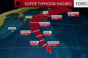 Nhiều chuyến bay giữa Việt Nam và Nhật phải hủy vì siêu bão Hagibis