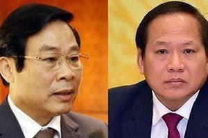Ông Nguyễn Bắc Son và Trương Minh Tuấn bị khai trừ khỏi Đảng