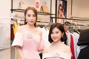 'Nhã tiểu tam' Quỳnh Nga hội ngộ 'Trà Tuesday' Lương Thanh, cùng diện váy hồng ngọt ngào