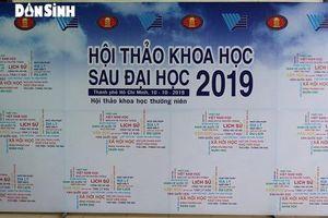 Thành phố Hồ Chí Minh: Tạo điều kiện thuận lợi, thể hiện đam mê nghiên cứu khoa học sau đại học